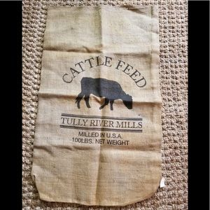 Tully River Mills Cattle Feed Sack